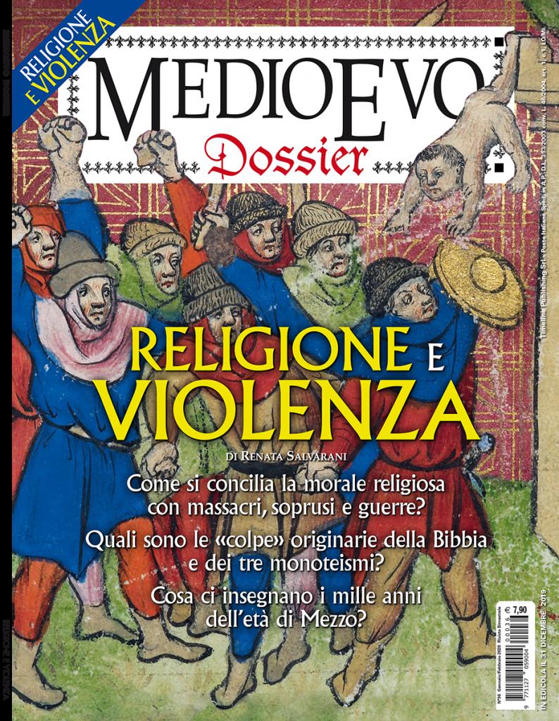 Copertina di Medioevo Dossier n. 36 Gennaio/Febbraio 2020
