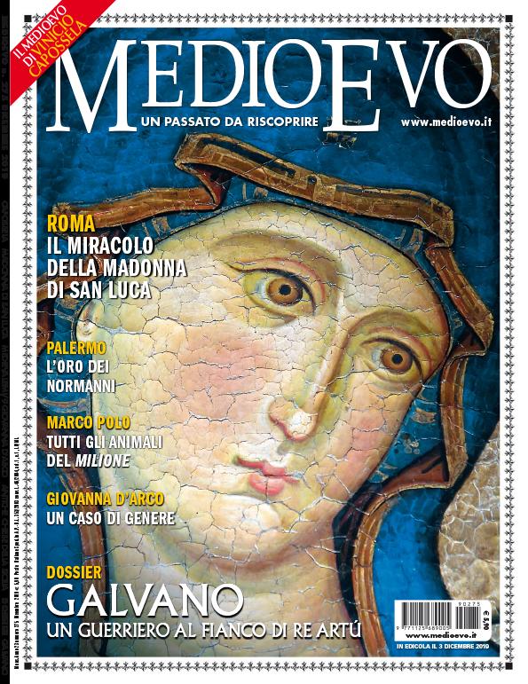 Copertina di Medioevo n. 275, Dicembre 2019