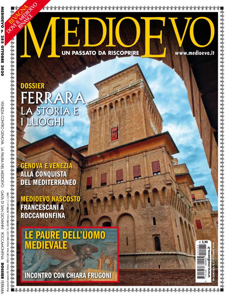 Copertina di «Medioevo» n. 285, Ottobre 2020