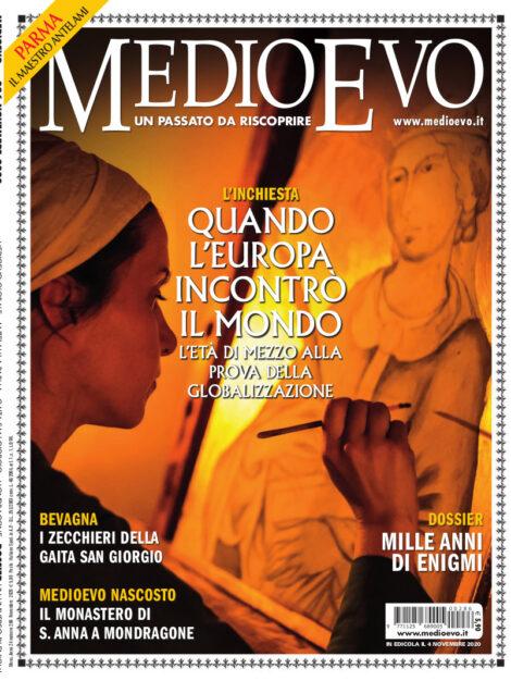Copertina di «Medioevo» n. 286, Novembre 2020